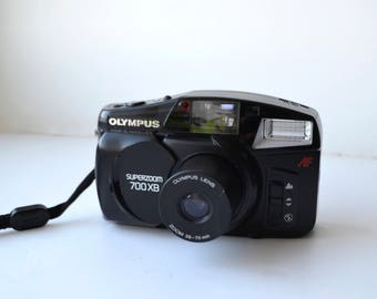 Camera Olympus, Superzoom, Vintage camera, Olympus, Compact camera, 35mm film camera, Small-format, Point and shoot, Lomo camera, Point shot