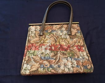 Vintage Tapestry Handbag by Dominique