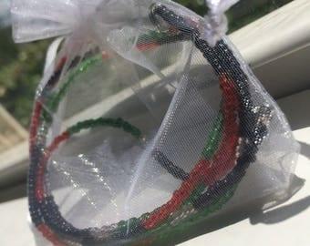 RBG waist beads.