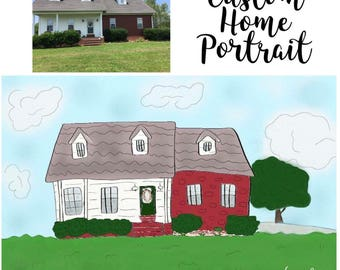 Custom Home Drawing/Illustration/Portrait