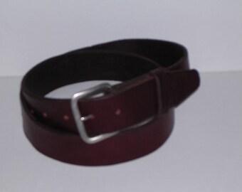 Latigo Saddle Strap Belt 0528                           ronmyersartist
