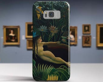 "Henri Rousseau, ""The Dream"". Samsung Galaxy S8 Case LG V30 case Google Pixel Case Galaxy J7 2017 Case and more. Art phone cases."