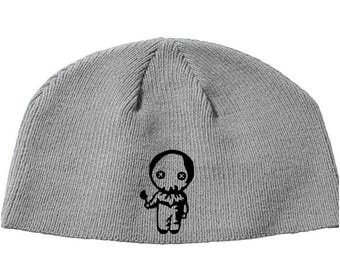 Sam Trick or Treat Halloween Beanie Knitted Hat Cap Winter Clothes Horror Merch Massacre Christmas Black Friday