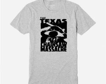 Leatherface Texas Chainsaw Massacre T Shirt Clothes Many Sizes Colors Custom Horror Halloween Merch Massacre