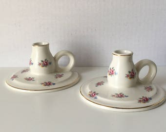 Lord Nelson Pottery candleholders
