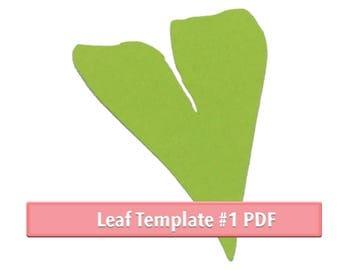 Leaf PDF template