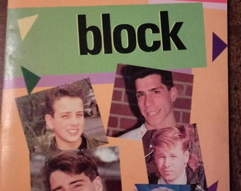 Vintage New Kids on the Block Fabulous Photos Included, book, 1989, NKOTB