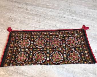 Vintage Baby Cradle/hammock/Ghodiyu/Embroidery/Antique Mirror Work