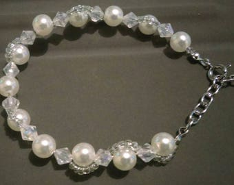shadow eye bridal bracelet