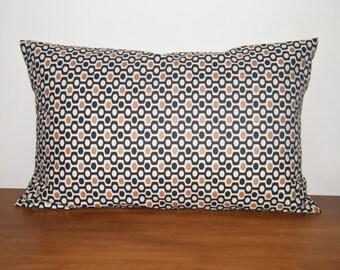 Cushion + 30 X 50 cm geometric printed rectangular Cushion cover