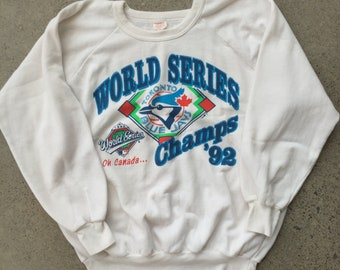 1992 Toronto Blue Jays Pullover Sweater