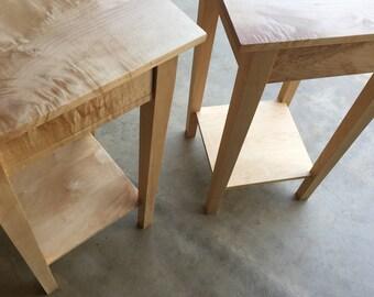 Custom Shaker Style End Table