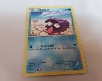 Shellder Pokemon Card