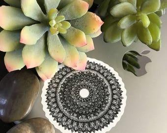 Small Intricate Mandalas - Sticker Design