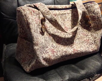 Weekend Carpet Bags or overnight bags
