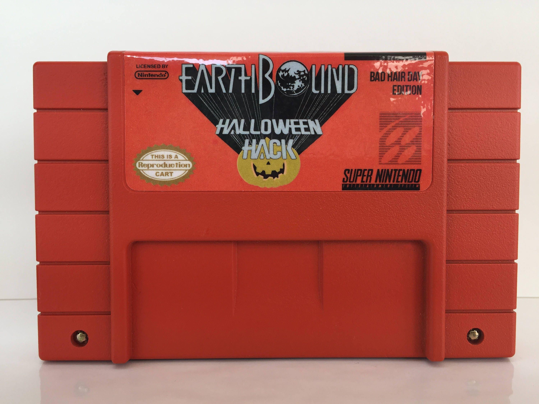 Earthbound: Halloween Hack SNES Radiation AKA Toby