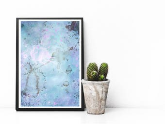 Abstract Art, Watercolor Printable, Abstract Print, Abstract Wall Art, Abstract Art Print, Wall Art, Instant Download, Modern, APIRO PRINTS