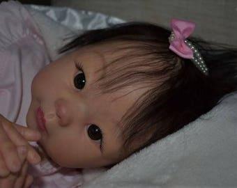 Adopted. Reborn Babies Lifelike OOAK Custom Asian Tami by Linda Murray Cradle Kit Girl Boy Baby Doll.  JULY 2018 Order!