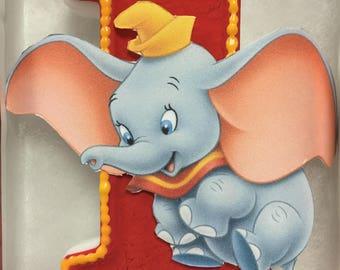 Dumbo Birthday Candle