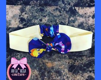 Custom my little pony bow headband