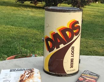 1970s DADS Rootbeer Grill/Smoker, vintage  advertising