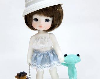 "New 12cm Resin doll "" RAMI "" from Petite Jiwoo(1/6 doll)"
