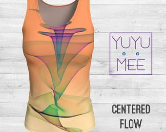 Centered Flow Yoga Tank - Loose or Fitted