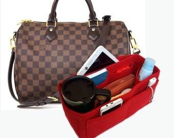Louis Vuitton Organizer, Bag Purse Organizer, Purse Organizer, Bag organizer, Organizer for Louis Vuitton, Felt Purse Organizer, Bag insert