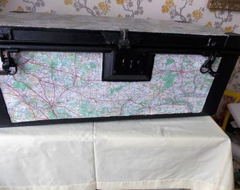 Vintage French Storage Trunk
