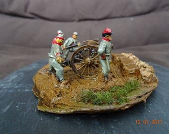 Confederate Canon and his minions 1862