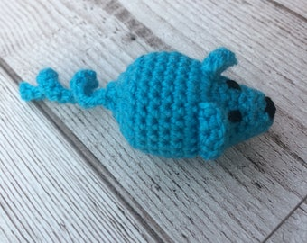 Catnip Mouse - Cat Toy - Catnip Toys - Cat Toys - Mouse Cat Toy - Pet Toys - Crochet Cat Toy - Catnip Mouse - Crochet Mouse - Cats Gift