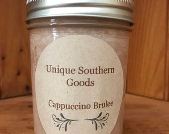 8oz Cappuccino Brûlée soy candle