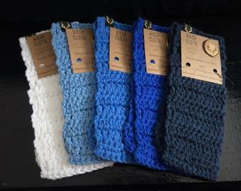 Crochet 100% Cotton Wash Cloth - Washcloth – Kitchen or Bath - Great Gift!
