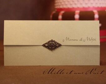 "Share ""Arabian Nights"" Oriental ethnic wedding"