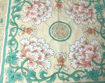 Art Deco Cloth Napkins Two (2)