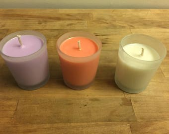 Various Scented Handmade Votive Candles
