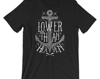 Lower Than Heaven Short-Sleeve Unisex T-Shirt
