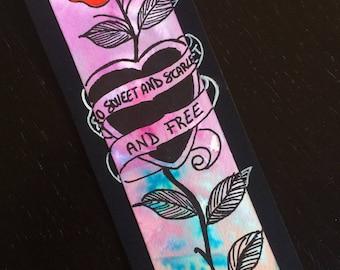 Bookmark Nick Cave wild rose