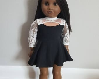 Dress for 18 inch Dolls such as American Girl Dolls- MADE TO ORDER