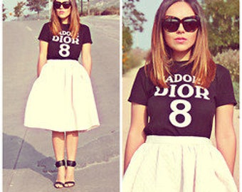 J'Adore Dior 8 Graphic Short Sleeve Custom Tee Tshirt