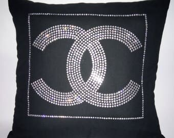 Bling Pillow - Dorm Decor - Inspired Bling - Wedding Gifts - Bridesmaids Gifts - Bling Pillow Cover