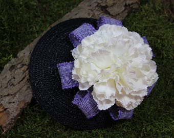 "Headpiece / Fascinator ""Hermine"""