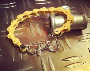 bicycle chain bracelet yellow and other colors