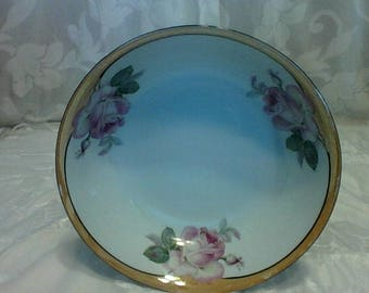 vintage/ Rose Serving Bowl/ Made in Germany number 207