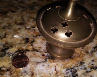 Brass incent burner