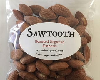 Roasted Organic Almonds
