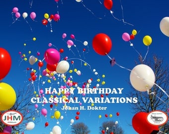 Brass Sextet - Happy Birthday classical variations
