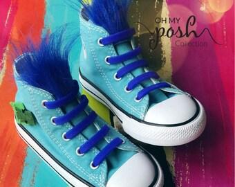Trolls Shoes Converse Happy Branch Birthday Custom Chuck Taylor