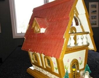 Ornamental Swiss Birdhouse.