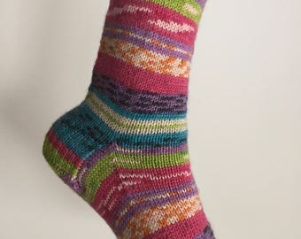 Pix Socks Hand Knit Women's Size Medium